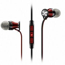 Slušalice Sennheiser MOMENTUM In-ear G, Android, mikrofon, crno-crvene