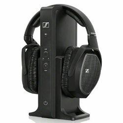 Slušalice Sennheiser RS 175, bežične, crne
