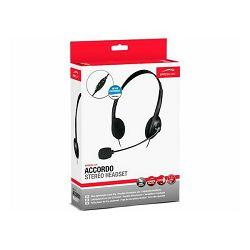 Slušalice SPEED-LINK Accordo, s mikrofonom, 3,5mm, crne