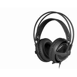 Slušalice STEELSERIES P300 Headset, za PC, PS3, PS4, crne