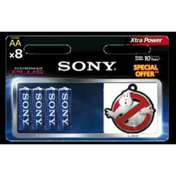 Sony alkalne baterije, 8 komada AA, Ghostbusters