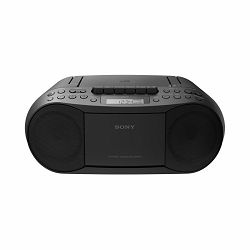 Sony CFD-S70, boombox s CD/kaseta/radio, crni