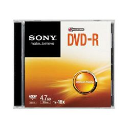 Sony DVD-R, 16x, 4.7GB, 1 kom