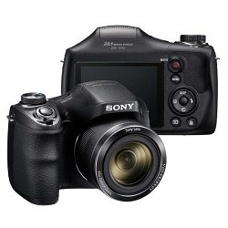 Fotoaparat Sony DSC-H300B crni,  20Mp,  35x , 720p,  3