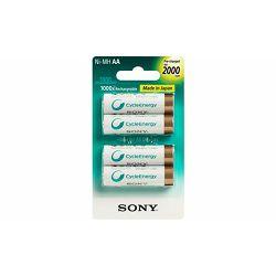 Sony punjive AA baterije, 2100mAh, 4 kom