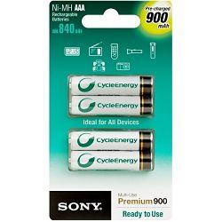 Sony punjive AAA baterije 900mAh,4kom