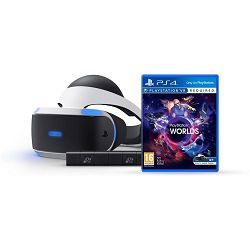 SONY PlayStation VR + VR Worlds + Kamera 2 + Demo Disc + Gran Turimo Sport Standard Plus Edition
