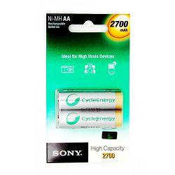 Sony punjive AA baterije 2700mAh,2kom,bl