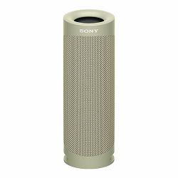 Zvučnik Sony SRS-XB23, prijenosni BLUETOOTH®, bež