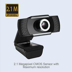 Adesso CyberTrack H4 1080p HD web kamera, crna