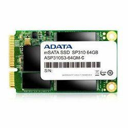 Adata SSD 64GB SP310, mSATA