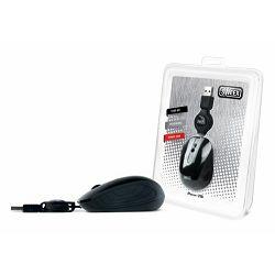Miš Sweex Travel Optical Mouse Black USB