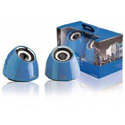 Zvučnici Sweex 2.0 speaker usb blue