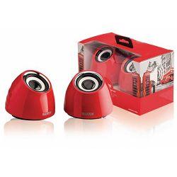 Zvučnici Sweex 2.0 speaker usb red