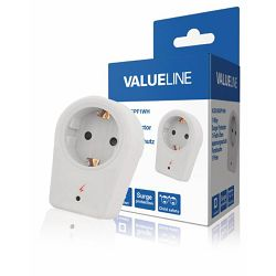 Valueline 1-way schuko surge