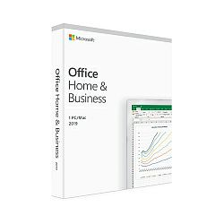 Microsoft Office Home & Bussines 2019 32-bit/x64-bit Eng, medialess (Word,Excel,PowerPoint,OneNote i Outlook)