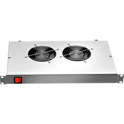 Tecnosteel 2 fan ventilation unit - 1U Mounting 19