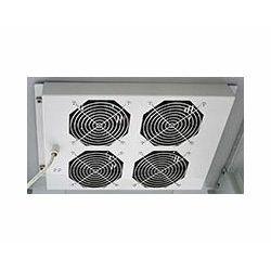 Tecnosteel ventilacija za ormar 4×fan, Black (F9064N)
