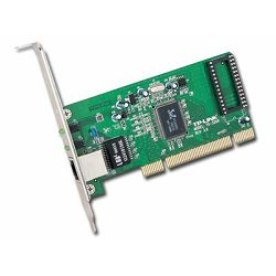 TP-LINK TG-3269 32bit Gigabit PCI Networks Interface Card, RealTek RTL8169SC, 10,100,1000Mbps Auto-Negotiation RJ45 port, Auto MDI,MDX.