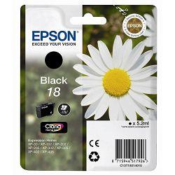 Tinta Epson 18 XP-202;205;305;405 crna pigment