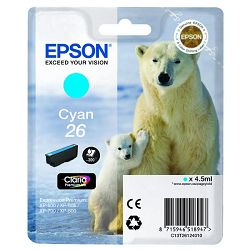 Tinta Epson 26 za XP-600;700;800 cyan
