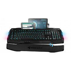Tipkovnica ROCCAT Skeltr, Gaming, Smart Communication, illuminated, crna, USB