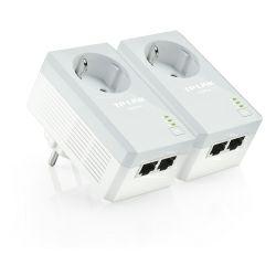 TP-Link AV500 Powerline mrežni adapter, 500Mbps, 2×mrežni ulaz, HomePlug AV (duplo pakiranje)