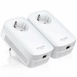 TP-Link AV1200 Powerline Gigabit Passthrough Mrežni Adapter, 1200Mbps, HomePlug AV2, Duplo pakiranje