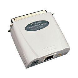 TP-Link Print Server paralel port, RJ-45 port