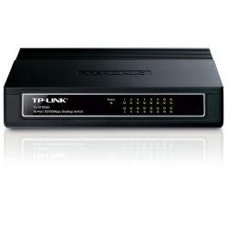 TP-Link 16-port Desktop preklopnik (Switch), 16×10/100M RJ45 ports, Plastično kučište