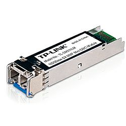 TP-Link Gigabit SFP module, Multi-mode, MiniGBIC, LC interface, Up to 550/275m distance