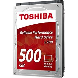 Tvrdi disk HDD Toshiba mobile L200 500GB, 8MB, 5400rpm