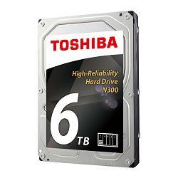 Tvrdi disk HDD Toshiba N300 6TB, 128MB, 7200rpm, NAS