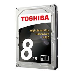 Tvrdi disk HDD Toshiba N300 8TB, 128MB, 7200rpm, NAS