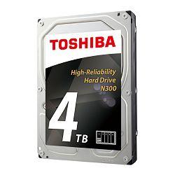Tvrdi disk HDD Toshiba N300 4TB, 128MB, 7200rpm, NAS