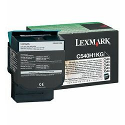 Toner LEXMARK C540, C543, C544 Black 2500 str.