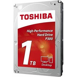 Tvrdi disk Toshiba HDD 1TB P300, 7200rpm, 64MB