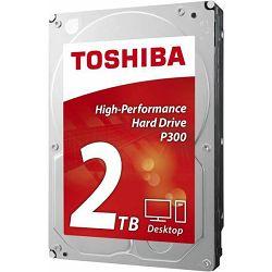 Tvrdi disk Toshiba HDD 2TB P300, 7200rpm, 64MB