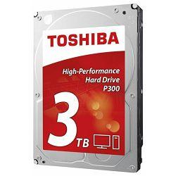 Tvrdi disk Toshiba HDD 3TB, 7200rpm, 64MB