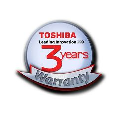 TOSHIBA 3 years International Warranty for Laptops