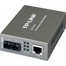 TP-Link MC110CS 10 100Mbps Single-Mode Media Converter