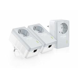 TP-Link 500Mbps Powerline Adapter Kit with 1 port 3pcs
