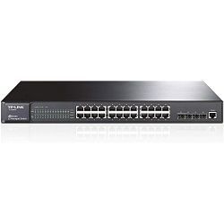 TP-Link TL-SG5428, 24-port Gbit L2 + 4 SFP