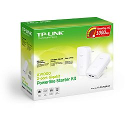 TP-Link TL-PA7020K, 1000 Mbs Gigabit Powerline kit