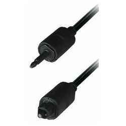Connecting Cable 3,5 mm plug - Toslink plug, 1,5 m