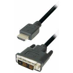 Transmedia Monitor Cable DVI HDMI 15m