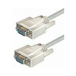 Transmedia C57-5HL Monitor Kabel 5m bijela boja Sub D-plug