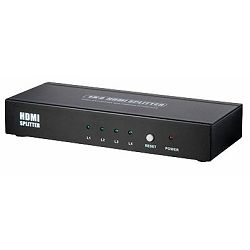 Transmedia 4-Way HDMi Splitter