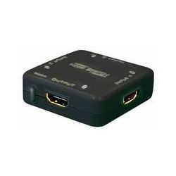 Transmedia CS 1-3 AL 3-way mini HDMI-Switch Input: 3x HDMI