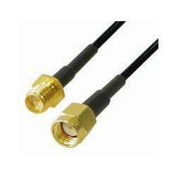 Transmedia CWK 2-5 WLAN Antenna Cable SMA reversed jack
